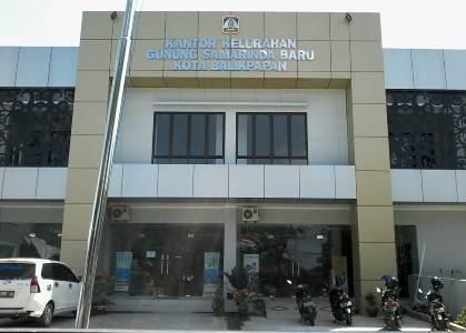 Kantor Kelurahan Gunung Samarinda Baru di lokasi baru